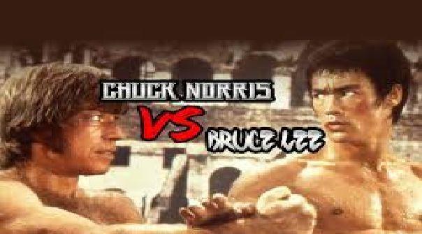 ¿Quién ganaría entre Bruce Lee y Chuck Norris?
