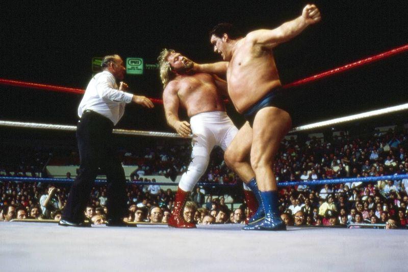 Andre The Giant vs Big John Studd