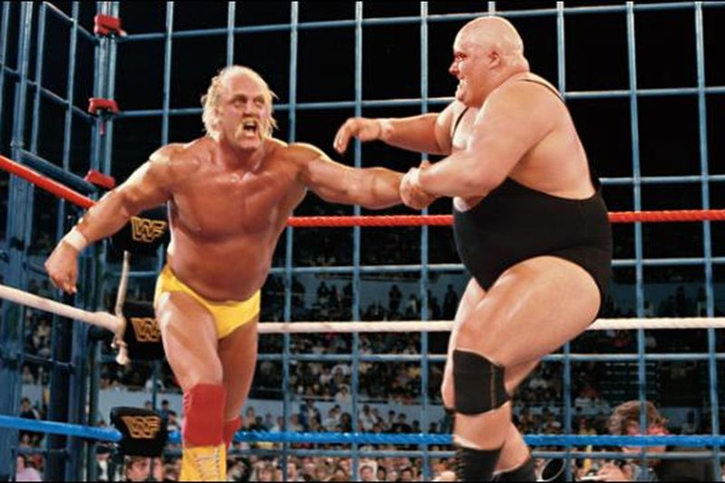 Hulk Hogan vs King Kong Bundy