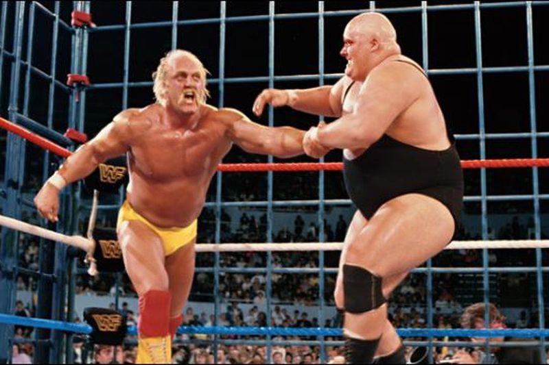 Hulk Hogan vs King Kong Bundy