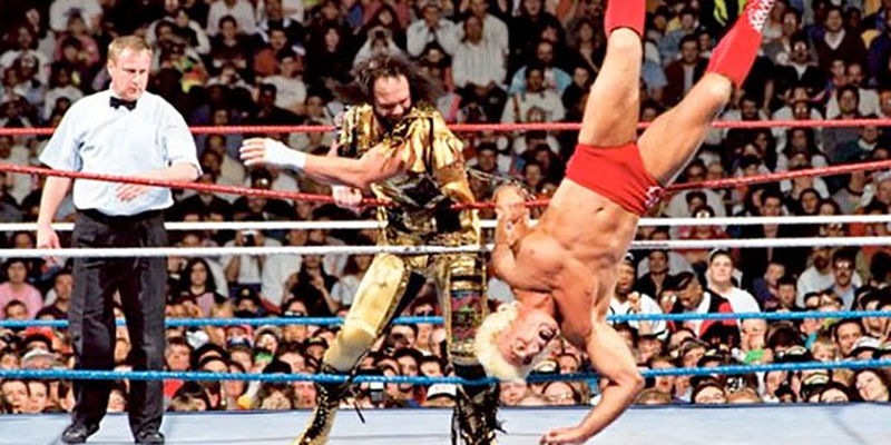 Randy Savage vs Ric Flair