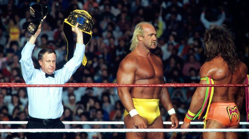 The Ultimate Warrior vs Hulk Hogan
