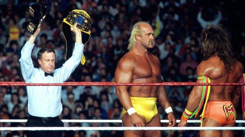 The Ultimate Warrior vs Hulk Hogan