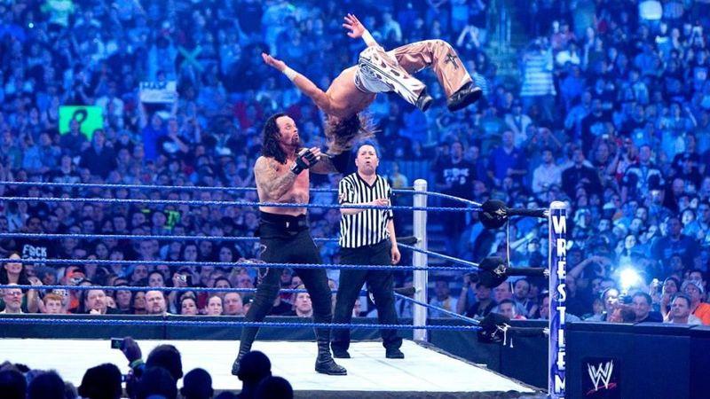 El primer Undertaker vs Shawn Michaels