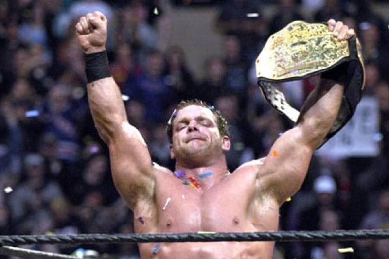 Chris Benoit vs Shawn Michaels vs Triple H