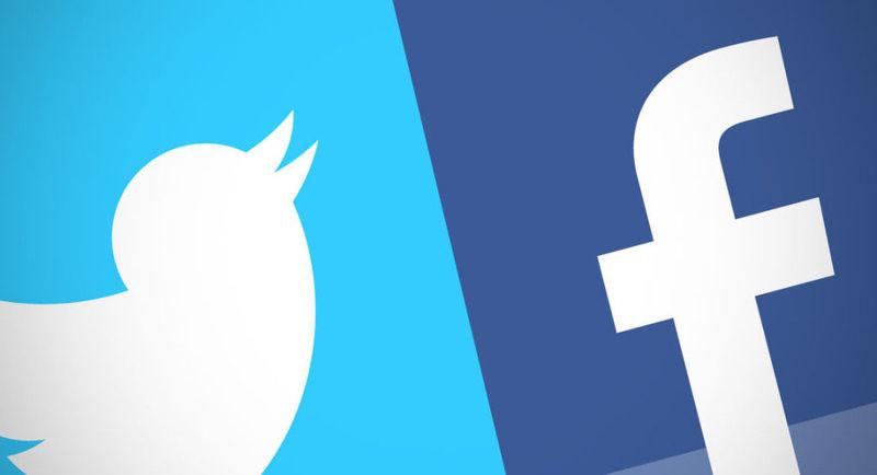 Twitter o Facebook