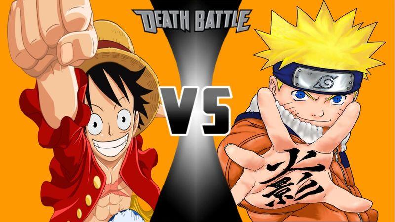 ¿Quién ganaría entre Naruto y Luffy?