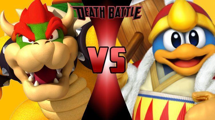 ¿Quién ganaría entre Bowser y el Rey Dedede?