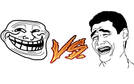 ¿Quién ganaría entre Yaoming y Trollface?