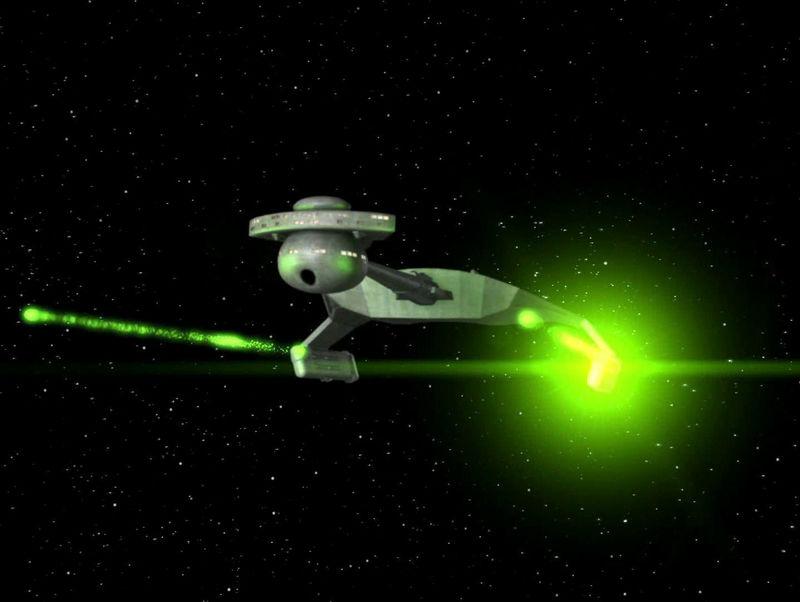¿De qué clase es esta nave de las Fuerzas de Defensa Klingon?