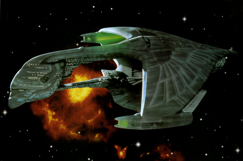 ¿De qué clase es esta nave Romulana?