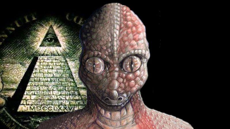 El mundo está gobernado por reptilianos