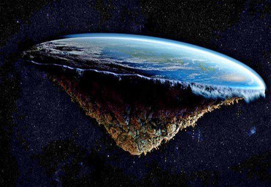 Creer que la tierra es plana