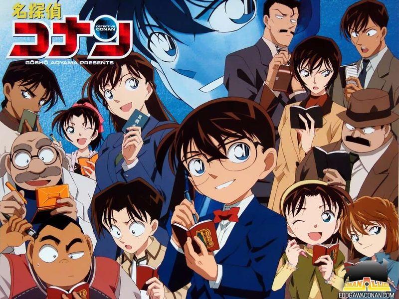 29453 - ¿Te acuerdas de estos personajes del Detective Conan?