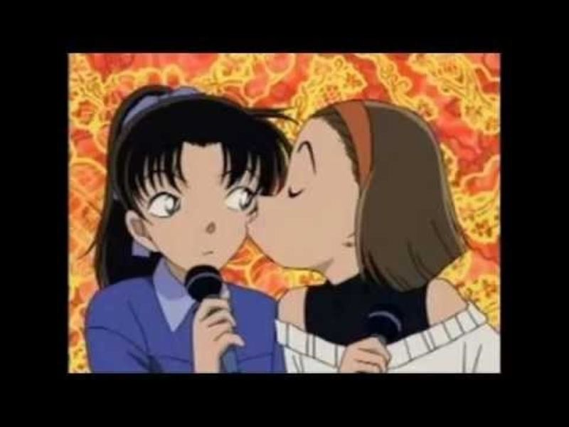 Las dos grandes amigas de Ran: ¿la chica de Osaka o la enamoradiza chica rica?