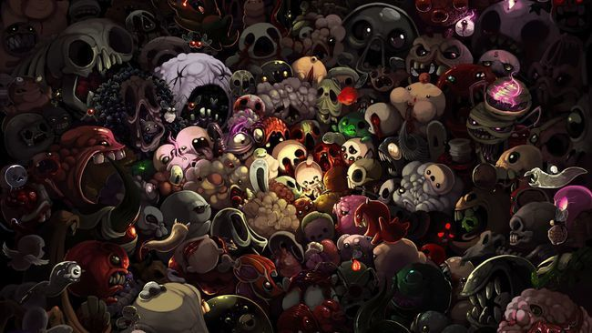 La saga The binding of Isaac