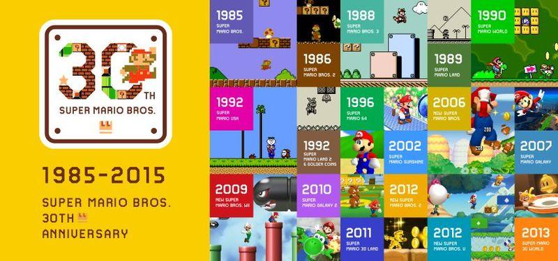 La saga Super Mario Bros