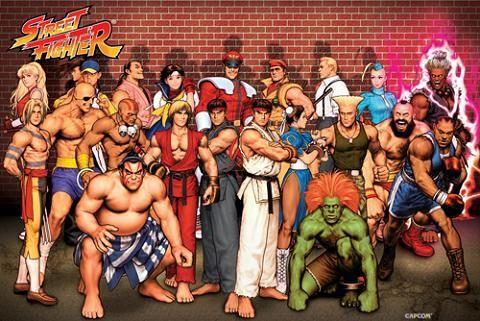 La saga Street Fighter