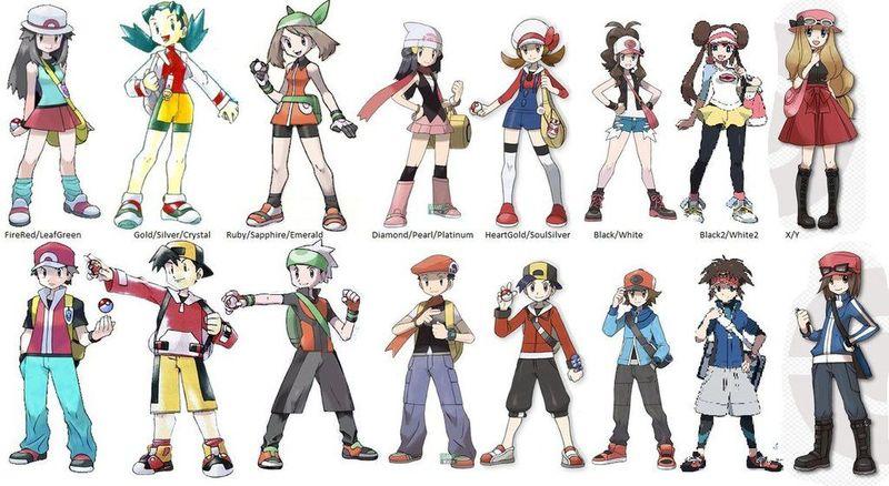 29614 - ¿Reconoces a estos entrenadores pokémon?