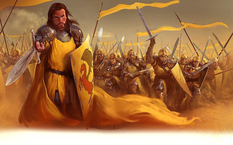 ¿Quién es el comandante actual de los arqueros de la Compañía Dorada?