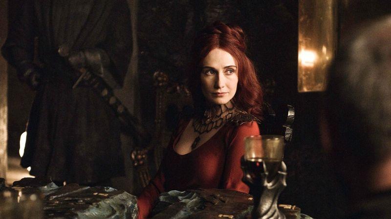 ¿Cuál parece ser el verdadero nombre de Melissandre de acuerdo a su único PDV en las novelas?