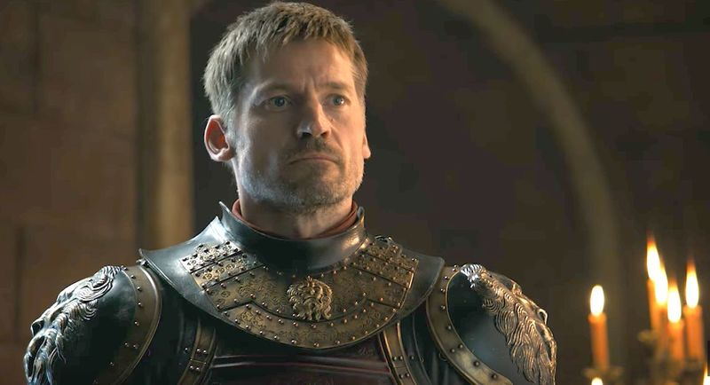 ¿Quién  armó caballero a Jaime Lannister?