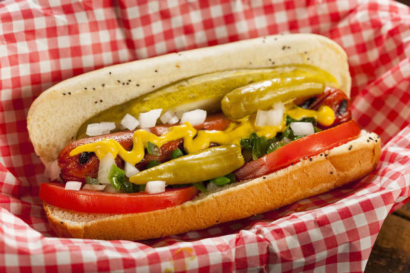 ¿De qué estado es típico el Chicago Hot-dog?