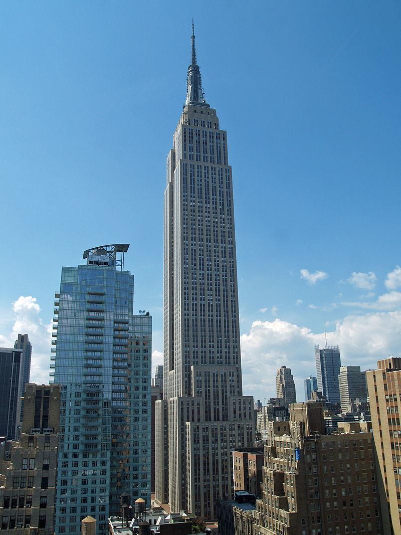 ¿En qué estado está el Empire State Building?