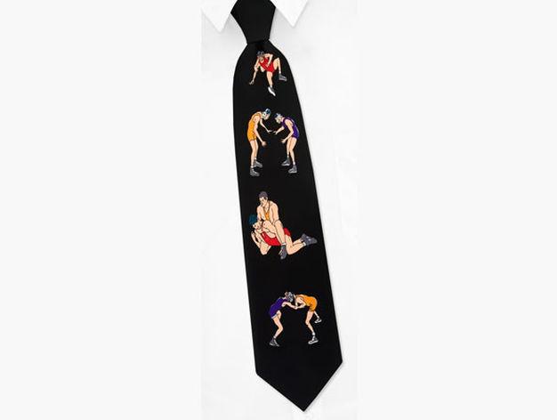 Imagina que estás en el metro y ves a un señor con esta preciosa corbata ¿qué haces?