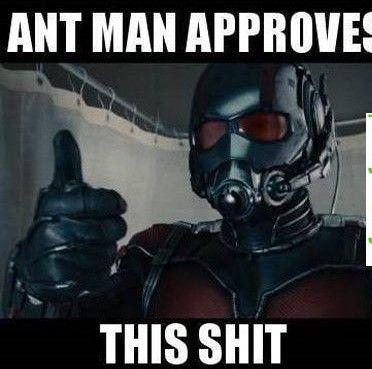 Te levantas una mañana como Ant-Man, ¿qué es lo primero que haces?