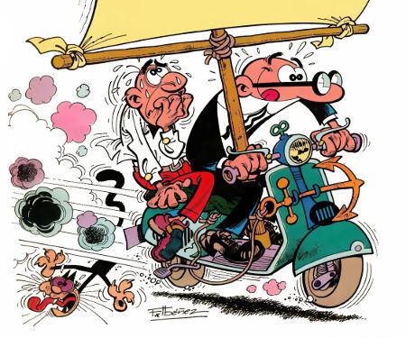 Subamos el nivel: ¿En qué año creó Ibáñez la primera historieta de