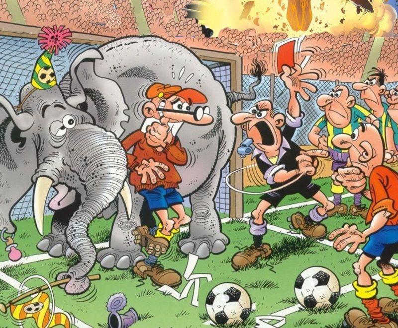 Vamos con una más difícil: ¿cuál es la mejor posición de España en un Mundial cuando Mortadelo y Filemón juegan con ellos?