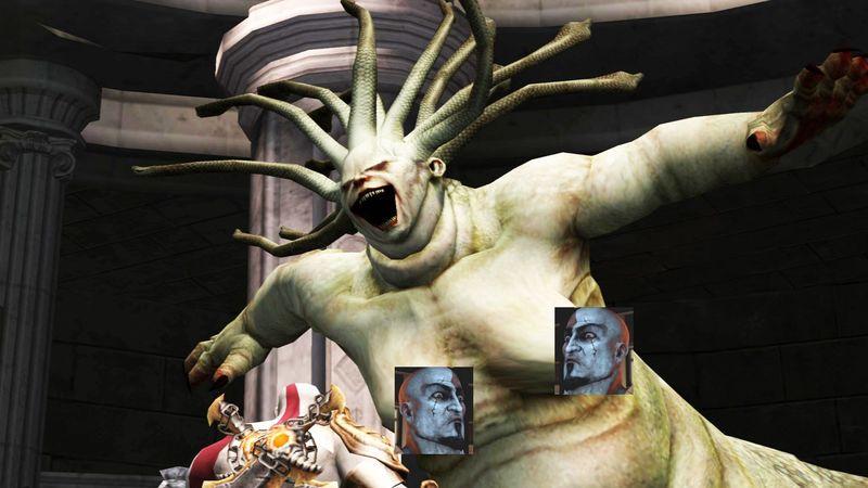 ¿Cuál es la razón por la que Euríale aparece en God of War 2?