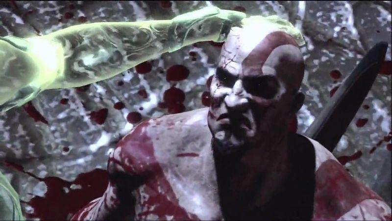 ¿Cuál es el único juego en el que Kratos sonríe?