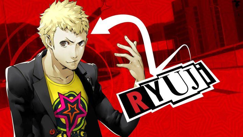 Que tipo de arcana tiene Ryuji?