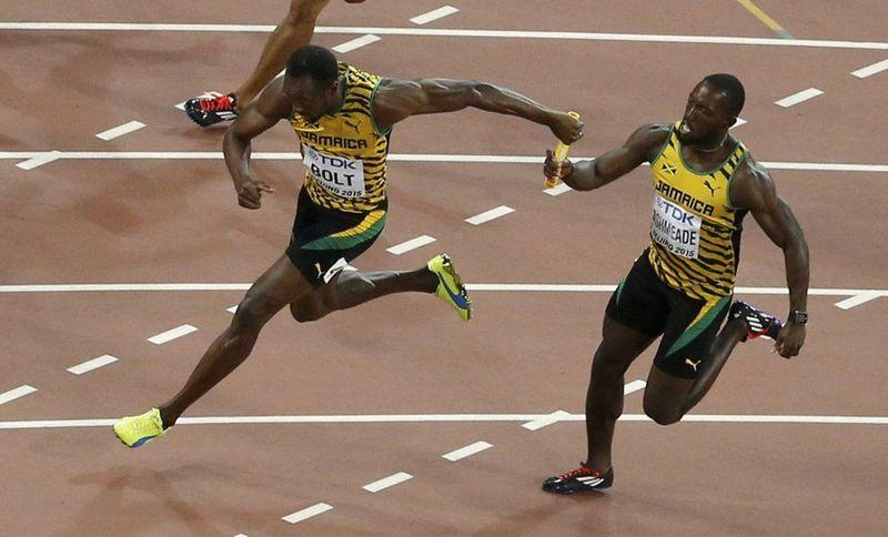 ¿Cuál de estos atletas no corrió con Bolt en el histórico relevo de 4X100 que logró oro y récord mundial en Londres 2012?