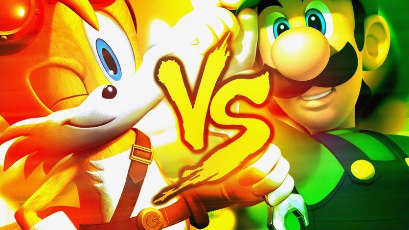 ¿Quién ganaría entre Luigi y Tails?