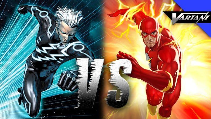 ¿Quien ganaría entre Flash y Quicksilver?