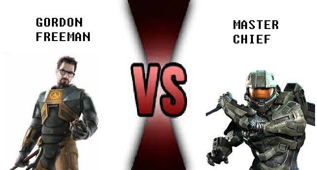 ¿Quién ganaría entre Master Chief y Gordon Freeman?