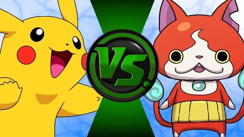¿Quién ganaría entre Pikachu y Jibanyan?