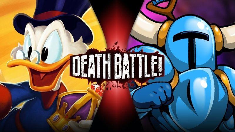 ¿Quien ganaría entre el Tio Gilito y Shovel Knight?