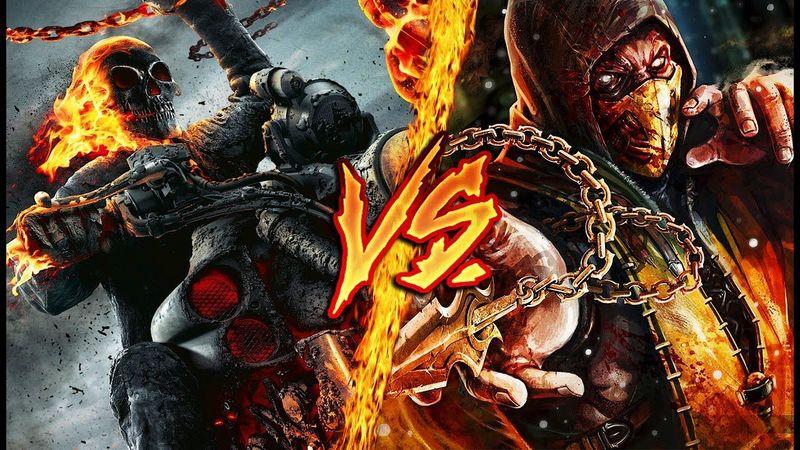 ¿Quién ganaría entre Scorpion y Ghost Rider?