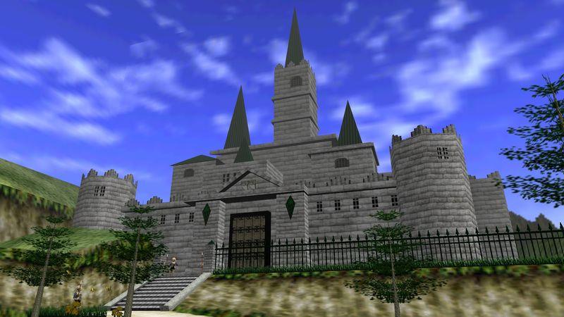 Una vez que Link niño entra en el interior del castillo, ¿a cuántos soldados tiene que esquivar?