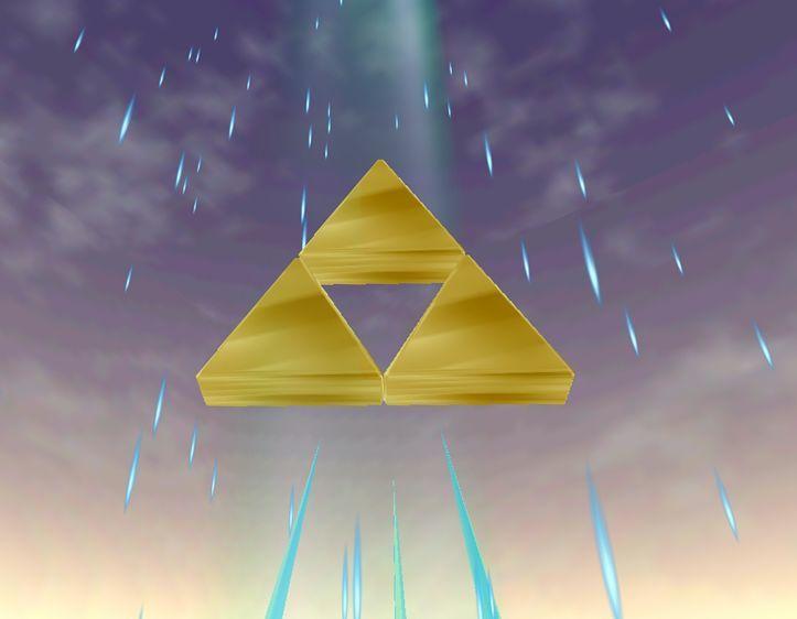 Como seguramente sabrás, Link posee el fragmento del Valor, pero, ¿dónde se encuentra exactamente ubicado en la Trifuerza?
