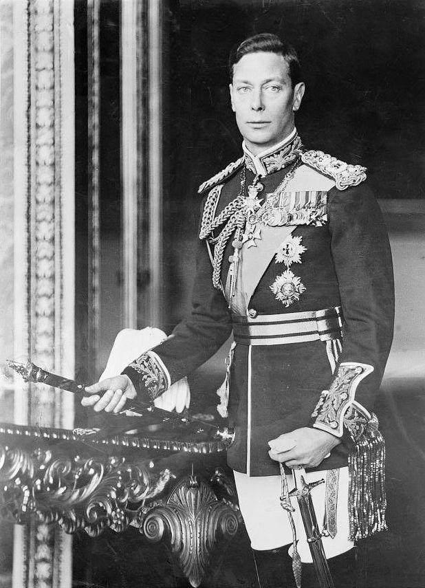 ¿Cuál era el nombre del Rey Jorge VI?