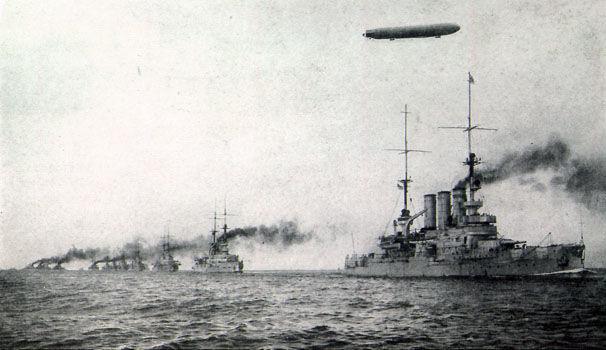Por aquellos años ¿Cuál era la gran potencia naval?