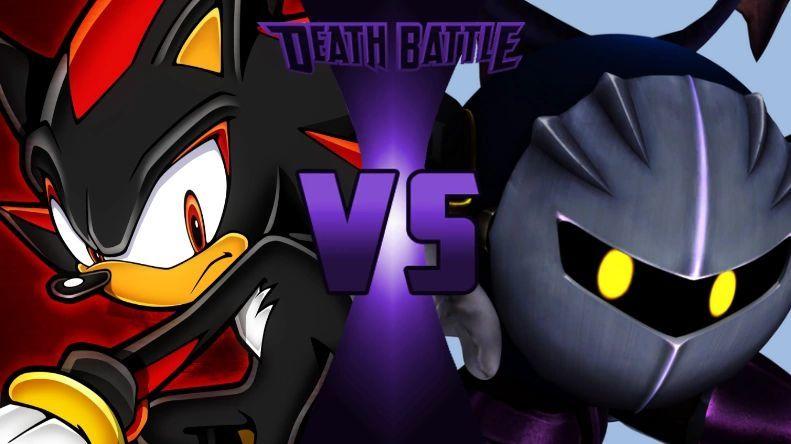 ¿Quién ganaría entre Meta Knight y Shadow?