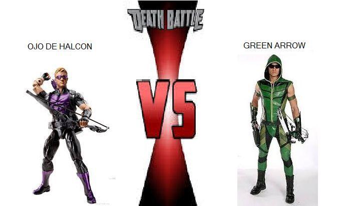 ¿Quién ganaría entre Ojo de Halcon y Green Arrow?