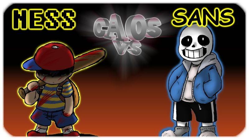 ¿Quién ganaría entre Ness y Sans?
