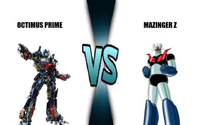 ¿Quien ganaría entre Octimus Prime y Mazinger Z?